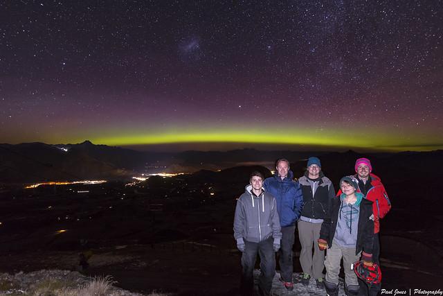 Coronet Peak Aurora