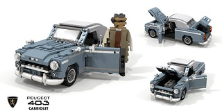 Peugeot 403 Cabriolet (1959) - Detective Columbo