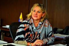 Presidente de la CCB, Mónica de Greiff,