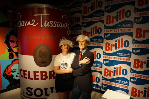 Madame Tussauds Orlando: Andy Warhol | by Disney, Indiana