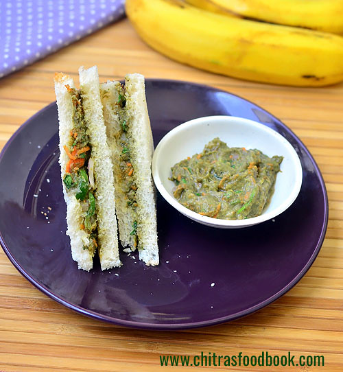 Avocado sandwich recipe Indian