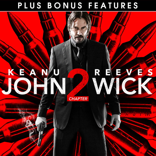 John Wick Chapter 2 (plus bonus features)
