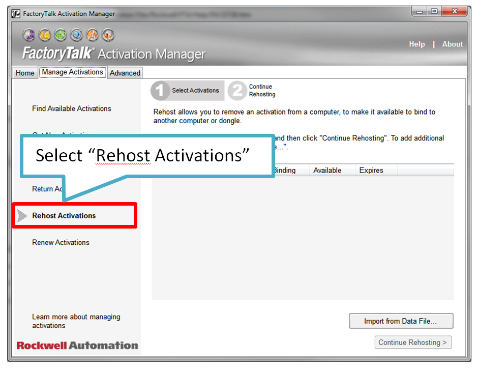 How to Move a Rockwell Automation Software Activation - Part I