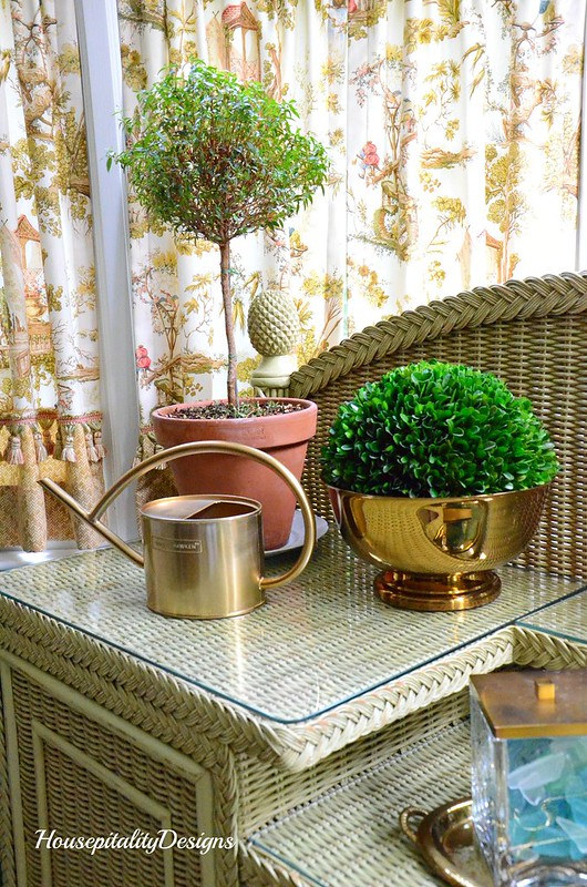 Topiaries-Sunroom Potting Bench-Housepitality Designs