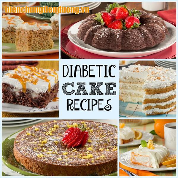 Bánh cho người bệnh tiểu đường cần chứa ít calo và tinh bột