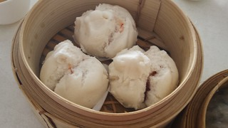 Steamed BBQ Buns @ Easy House