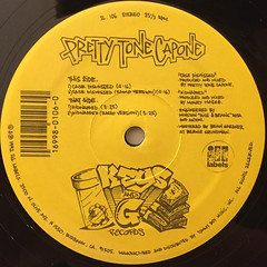 PRETTY TONE CAPONE:CASSE DISMISSED(LABEL SIDE-A)