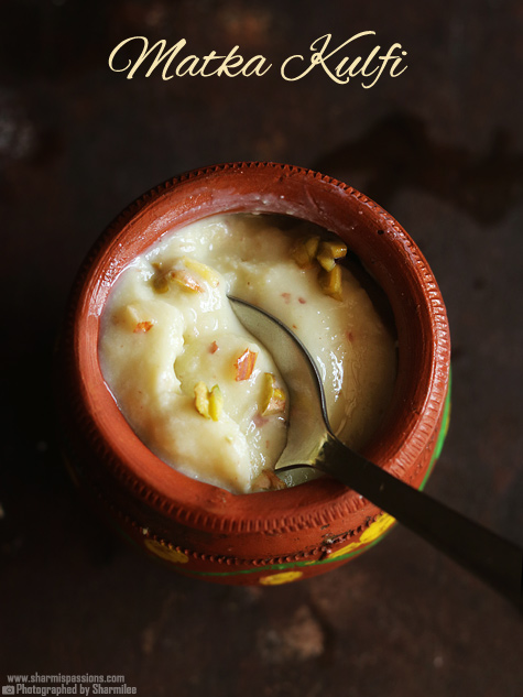 Matka kulfi recipe
