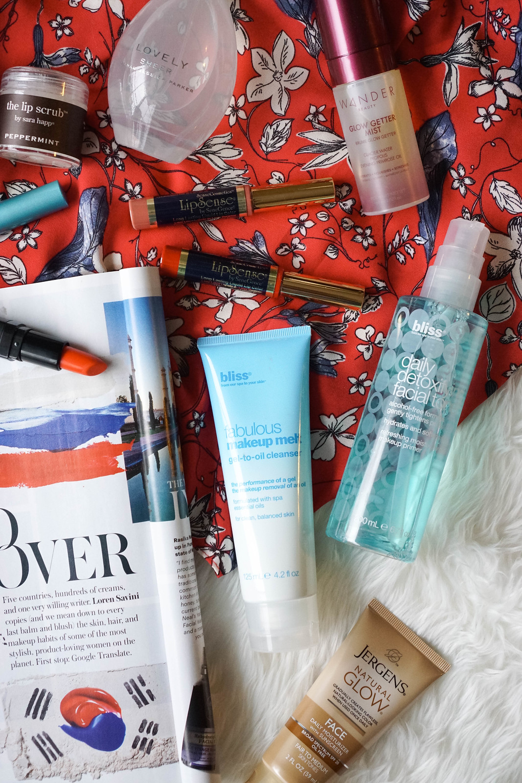 My May Beauty Essentials bliss fabulous Makeup Melt bliss Daily Detoxifying Facial Toner Review Living After Midnite Jackie Giardina