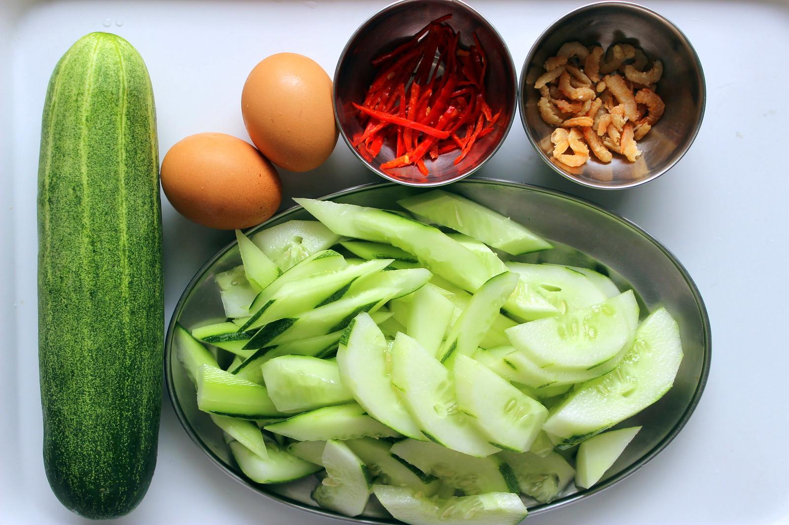 Grandma's Cucumber Stir Fry Recipe