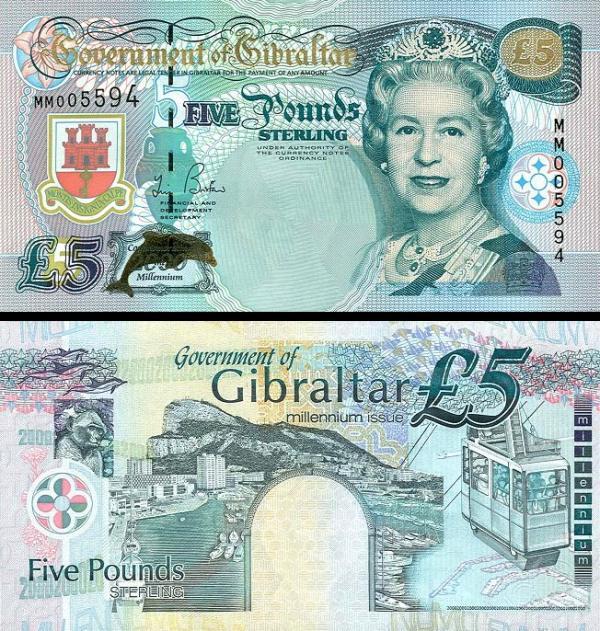 5 Libier Gibraltar 2000, P29 Miléniové vydanie