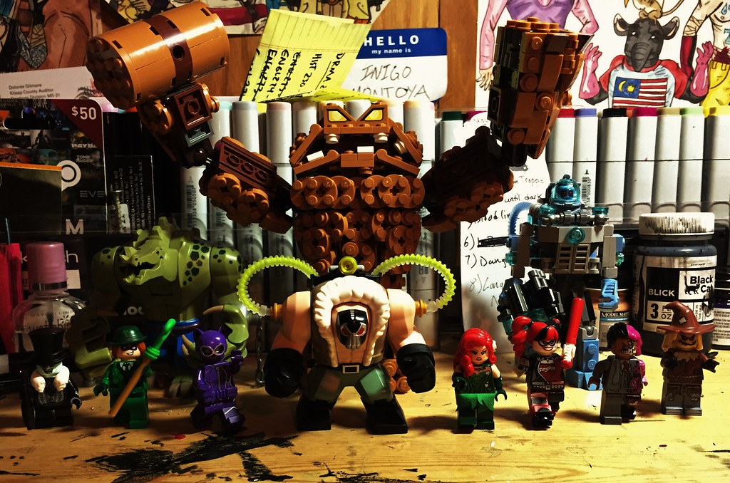 Lego Batman Movie Villains All The Main Bat Villains