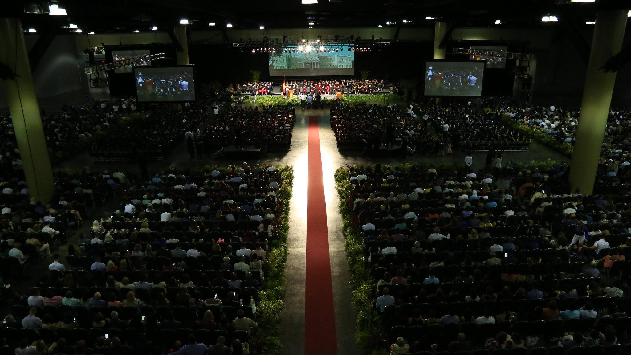 Graduación de la Universidad del Sagrado Corazón 2017