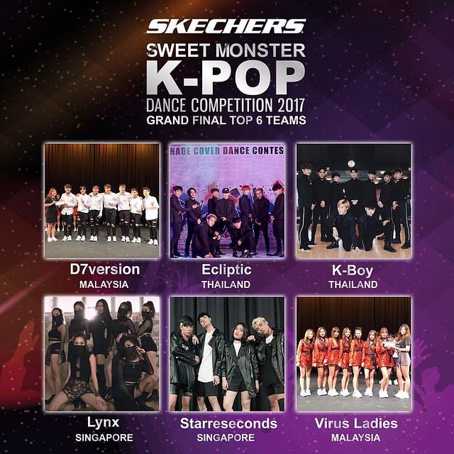 SKECHERS K-Pop Dance Competition 2017
