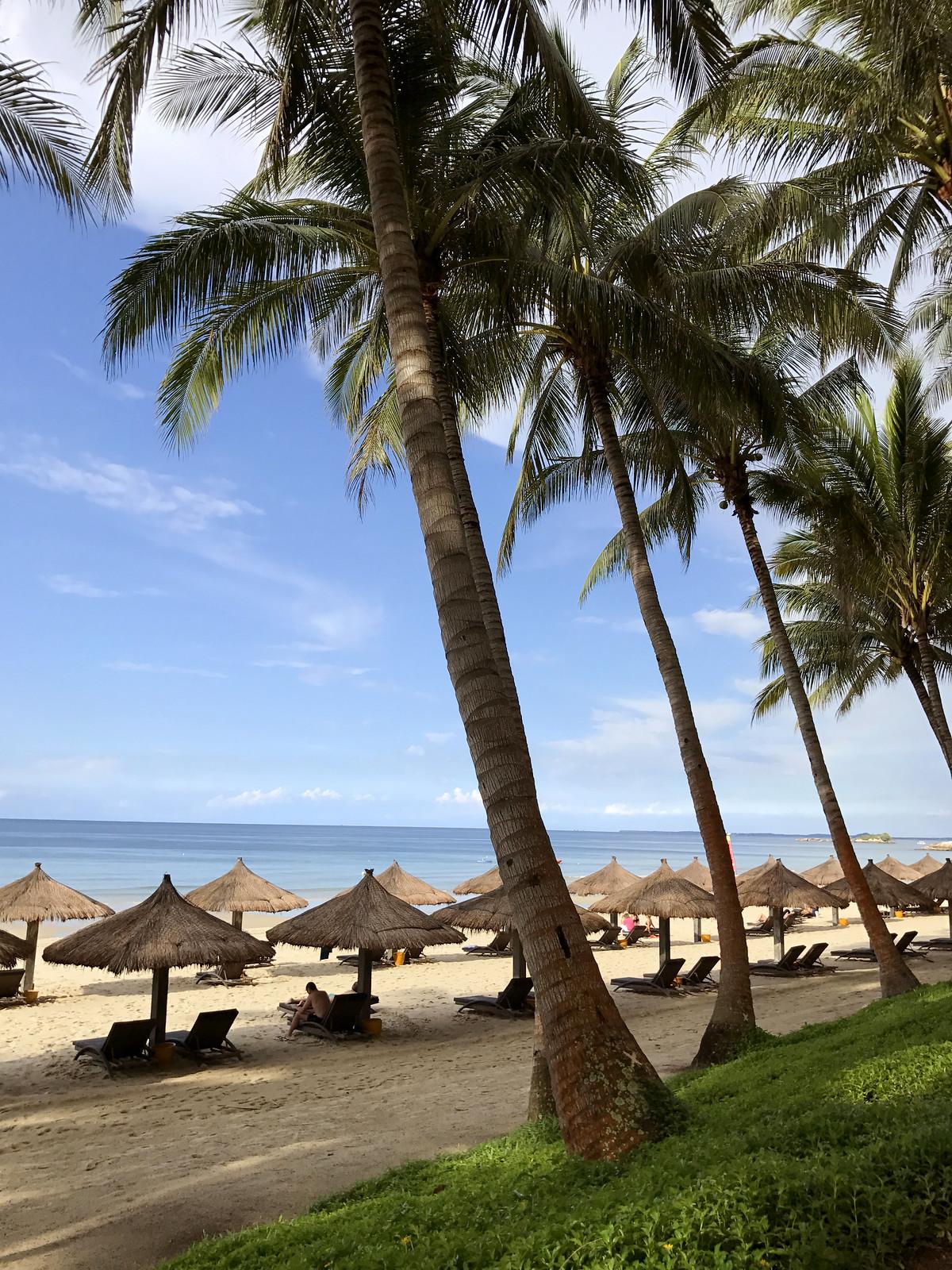 private beach in club med bintan 2