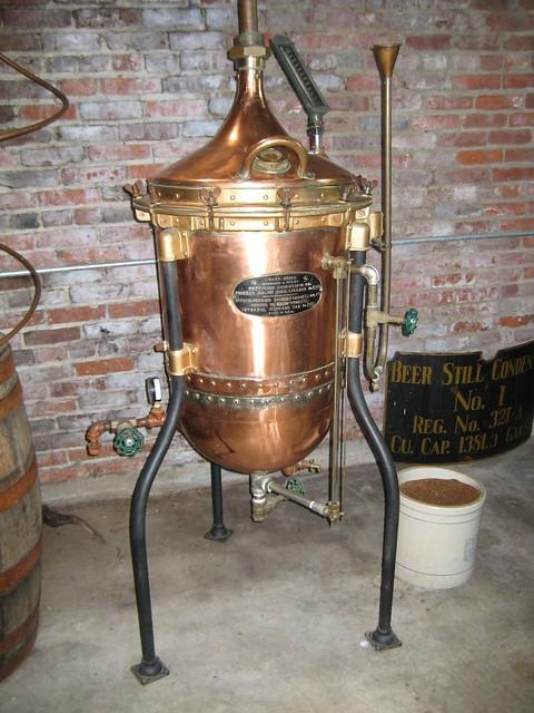 History of liquor distillation