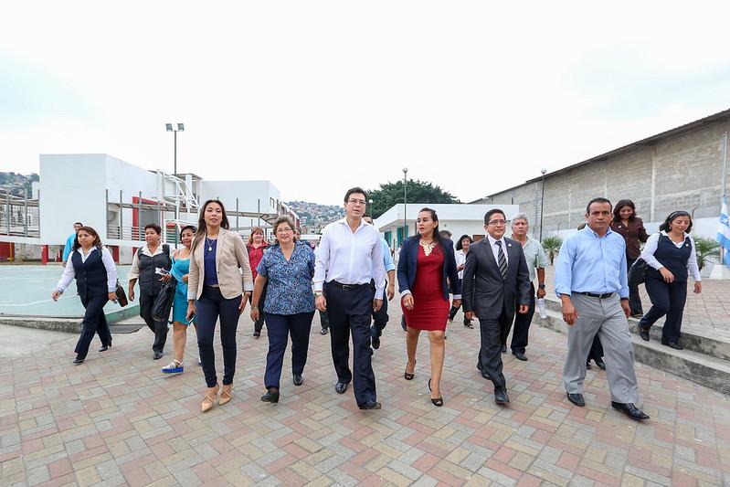 Ministro de Educación cumplió agenda de trabajo en Guayaquil