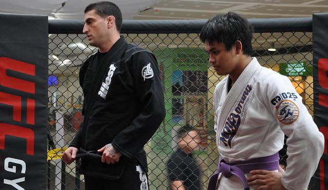 UFC Gym Philippines Brazilian jiujitsu trial session