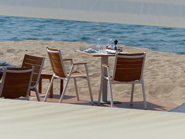 terrasse de bord de mer
