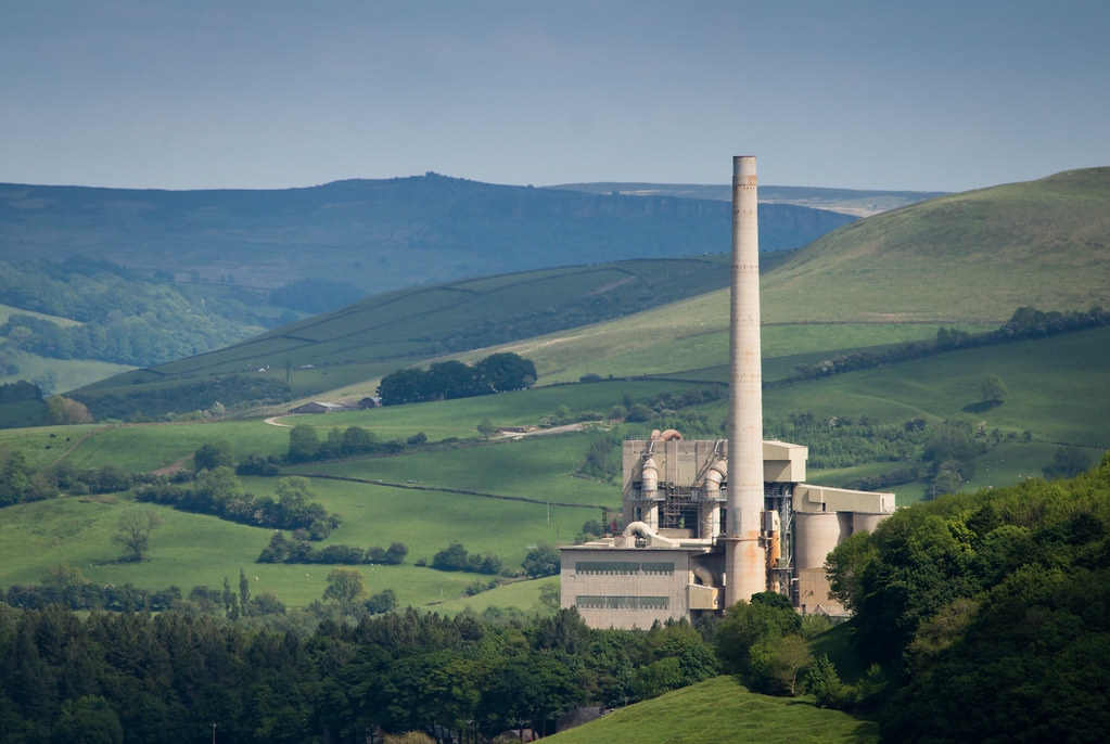 Castleton Cement Works 02 May 17 The Breedon Hope Cement