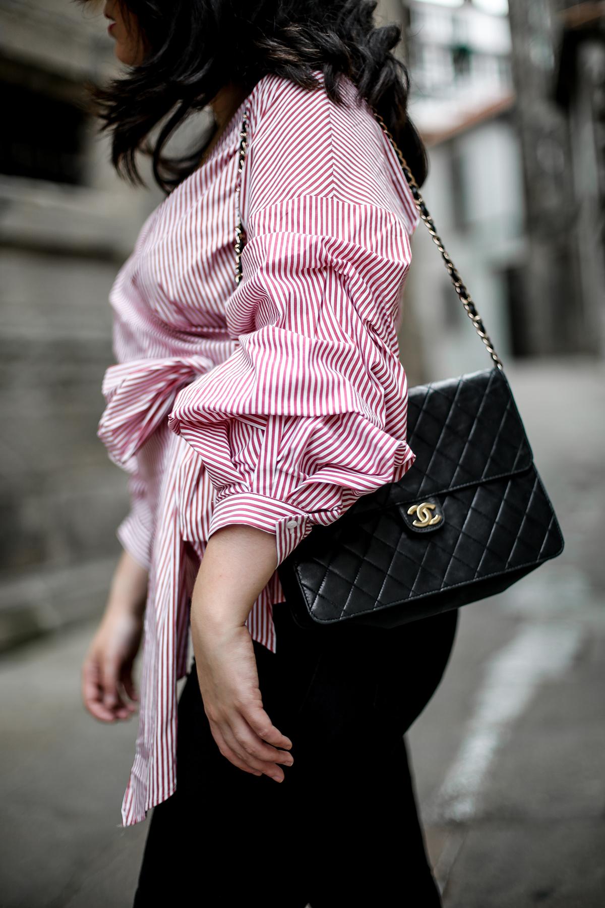 blusa-cruzada-zara-chanel-vintage-vestiaire-collective-myblueberrynightsblog2