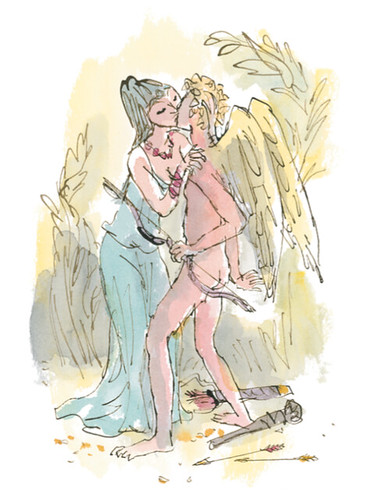 'Cupid and Psyche' from The Golden Ass. © Quentin Blake, 2015.