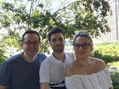 Fede con David y Cintia