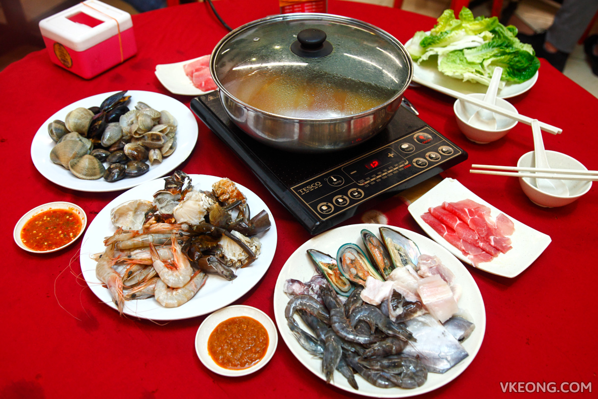 Fat One Steamboat Buffet Seafood Pork