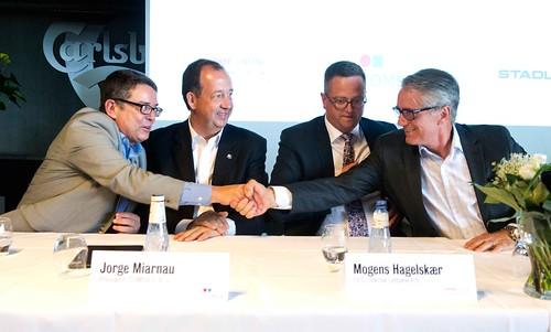 COMSA rubrica el contrato para construir el tranvía de Odense