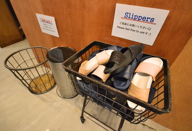 the dorm hostel osaka slippers free