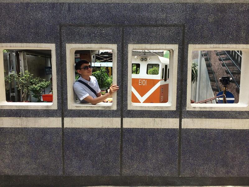 福井食堂-彩繪圍牆