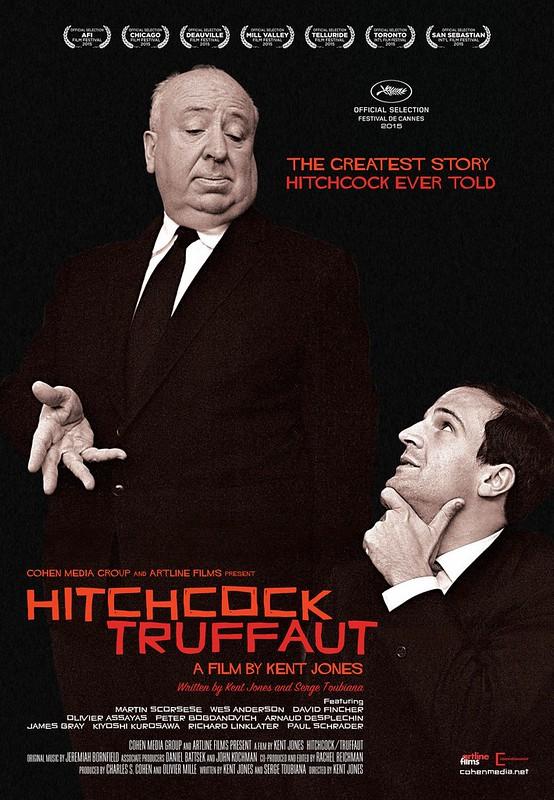 Hitchcock-Truffaut - Poster 1