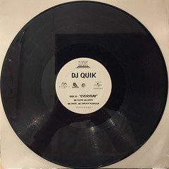 DJ QUIK:TROUBLE(RECORD SIDE-B)