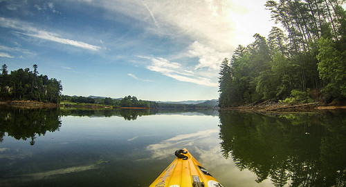 Lake Keowee and Estatoe Creek-14