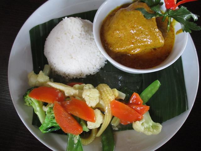 Cafe Ind kalio ayam rice set