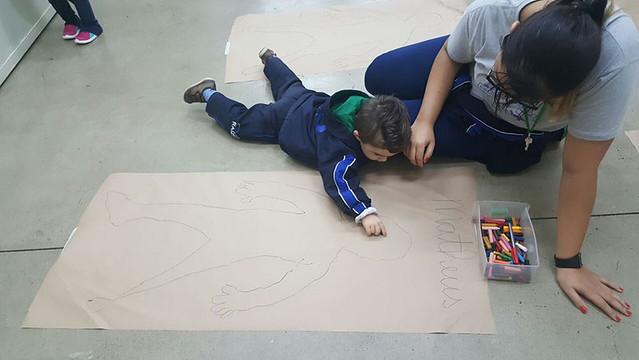 Desenhando o corpo humano - maternal