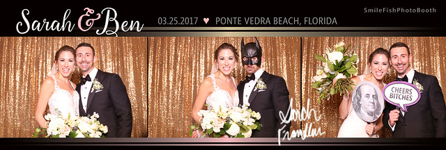 TPC Sawgrass Wedding Photo Booth | Jacksonville, Ponte Vedra, Florida