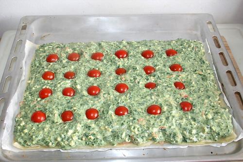 03 - Kirschtomaten hinzufügen / Add cherry tomatoes