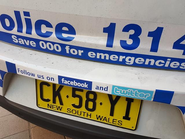 Police and social media