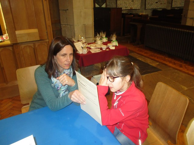 Blind spots activity from chapter 5 of Messy Church Does Science