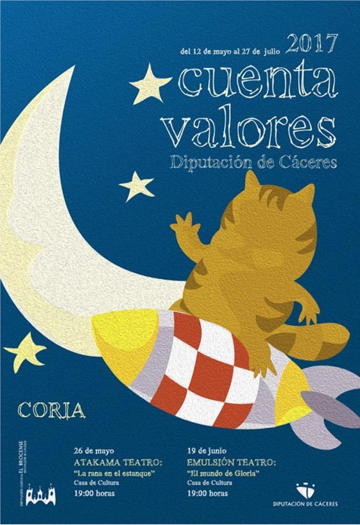Cuenta Valores llega a Coria de la mano de Atakama Teatro y Emulsión Teatro