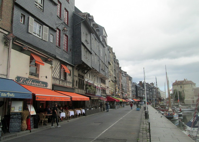 Honfleur Harbourside