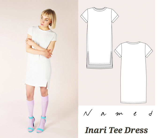 Named Inari tee dress