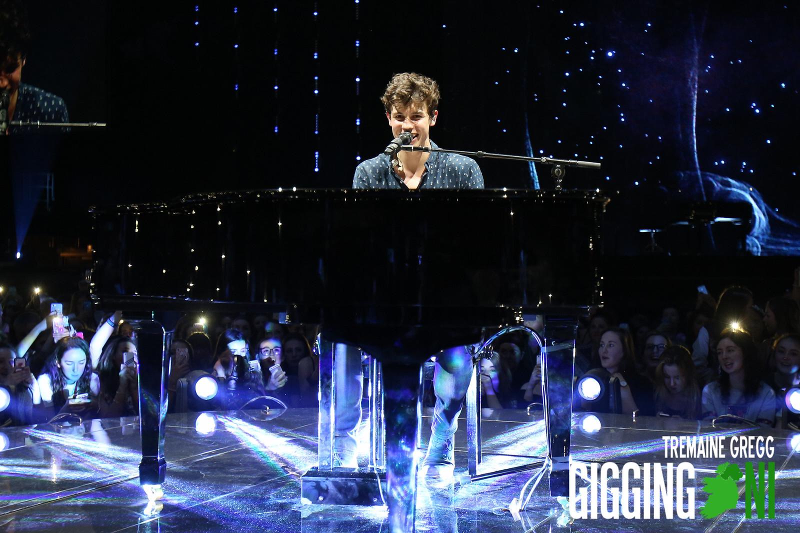Shawn Mendes performing at 3Arena, Dublin