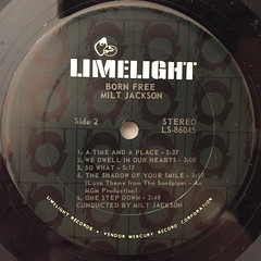 MILT JACKSON:BORN FREE(LABEL SIDE-B)
