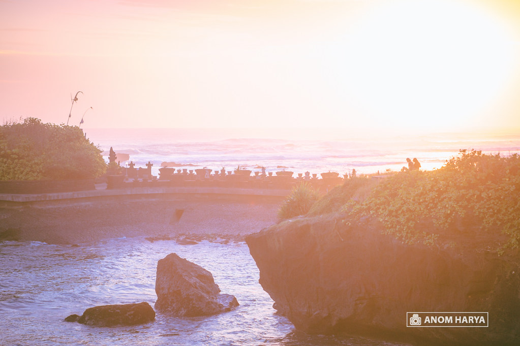 Couple on Mengening Beach