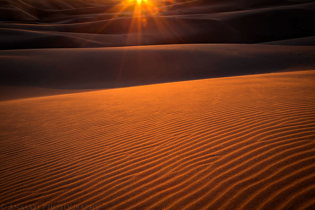 Great Sand Dunes Sunset