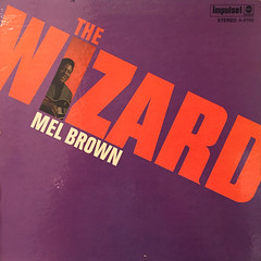 MEL BROWN:THE WIZARD(JACKET A)