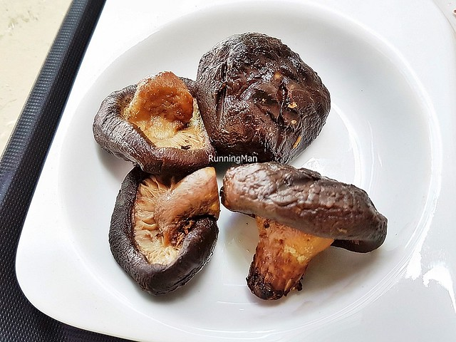 Hickory Smoked Shiitake Mushrooms