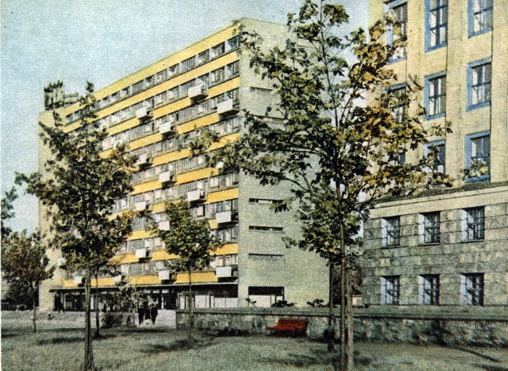 Reconstruction de Wroclaw dans les années d'après guerre.